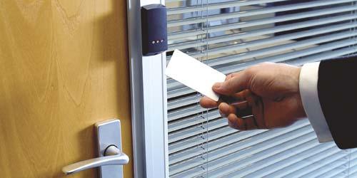 Door acces reader