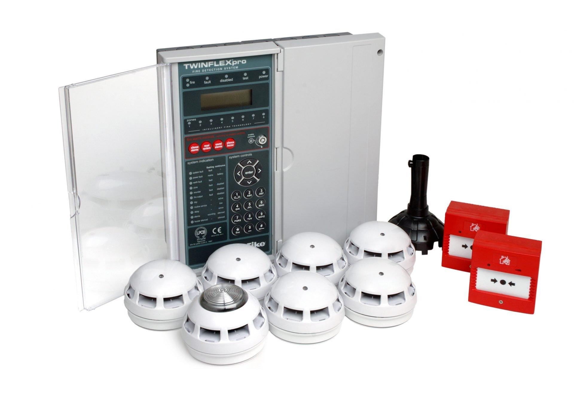Fire alarm twin flex